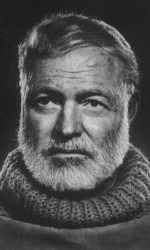 Ernest Hemingway portrait